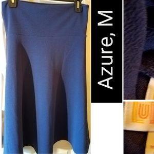 "LLR_Roomy/big ""Azure"" Skirt, Crepe-like"